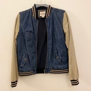 Half denim jacket from Forever 21